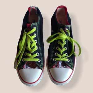 Converse Chuck Taylor All-Star black red sneakers